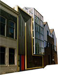 Studio/river home for sale in Holland.